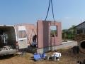Dům jedním tahem - montáž