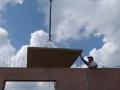 Dům jedním tahem - první stropní panel