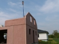 Dům jedním tahem - první čelo domu hotové