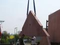 Dům jedním tahem - štít domu